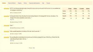 Feedback Amazon y la diferencia con las reviews
